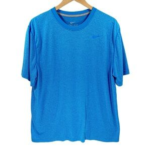 Nike Dri-Fit Men's Training Short Sleeve Tee Blue